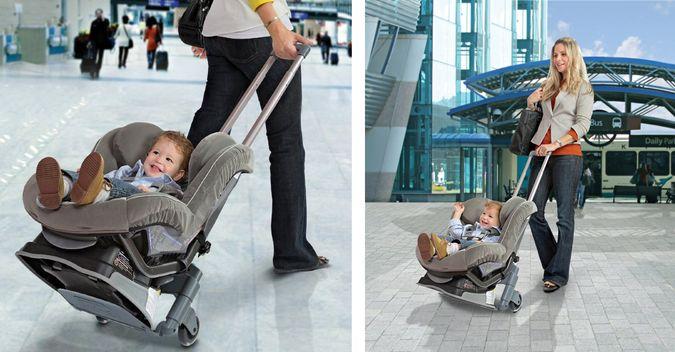 Brica Roll 'n Go - The Easy Child Car Seat Transport System