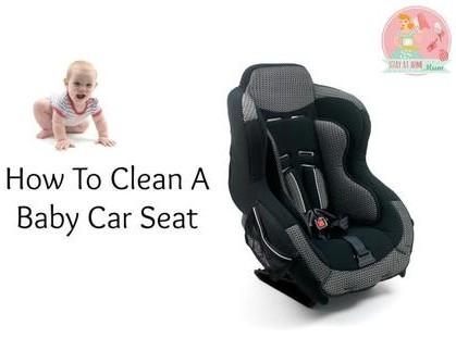 How to clean a baby car seat?