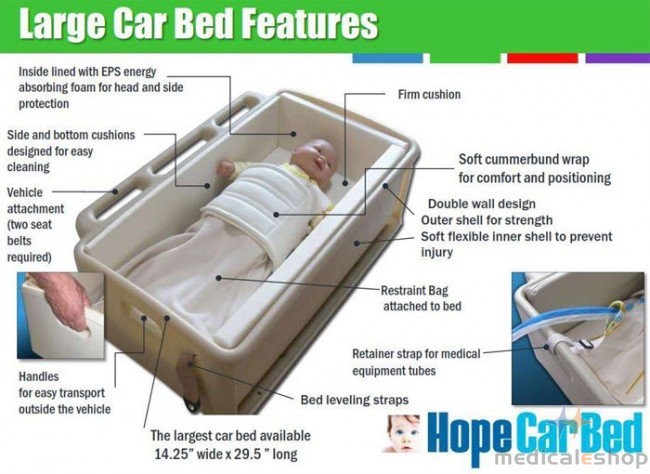 Car Bed Reviews - Safety Beds For Medically