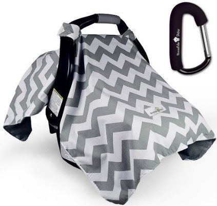Bonafide Baby Car Seat Cover With Free Stroller Hook