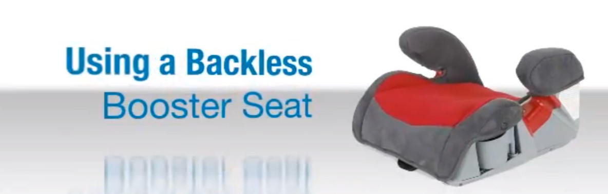 Backless Booster Seat Age No Back Mode