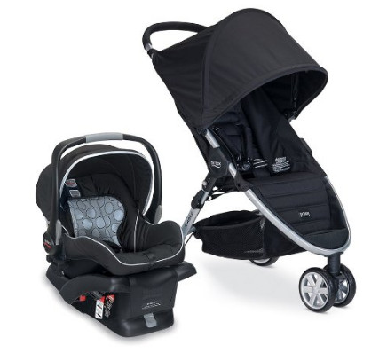 Britax 2014 B-Agile and B-Safe Combo
