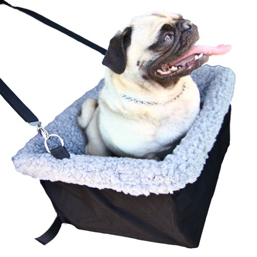 Deluxe Dog Booster Car Seat by Devoted Doggy